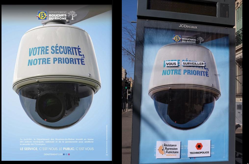 La campagne de communication du département des Bouches-du-Rhône, présidé par Martine Vassal